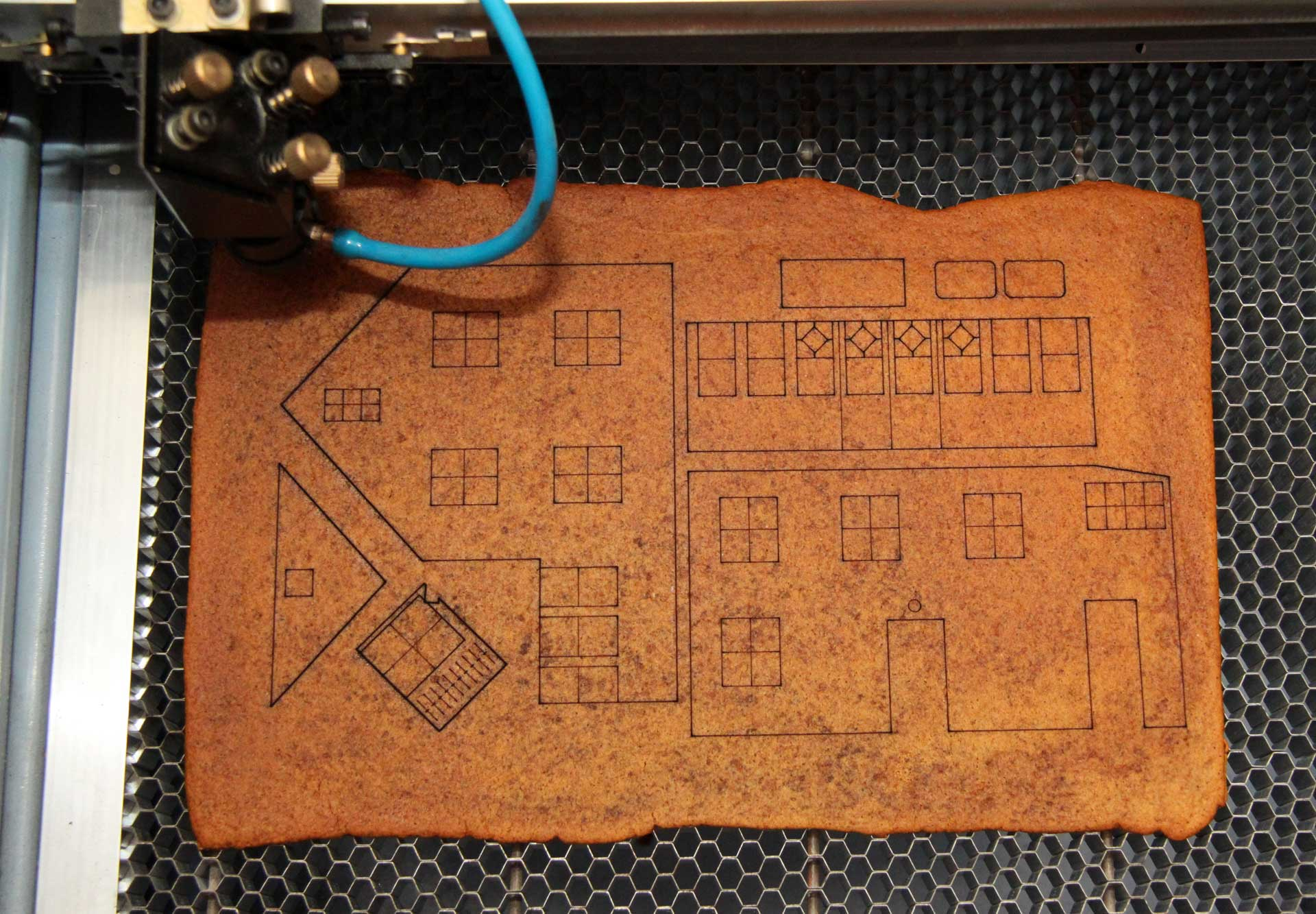 Laser Cut Gingerbread House Johan Von Konow